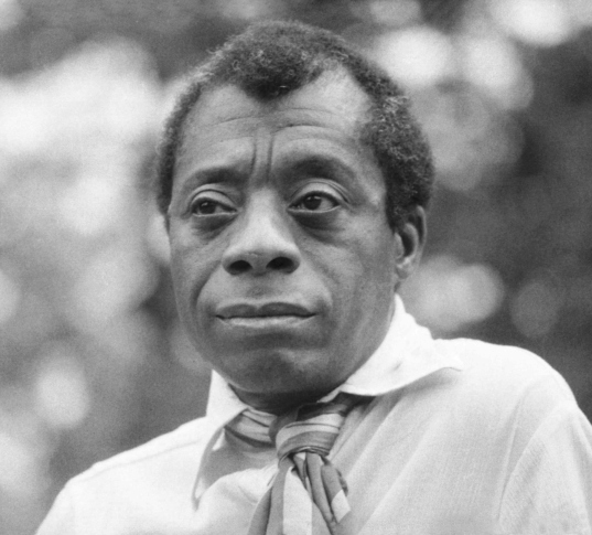 Photograph of James Baldwin